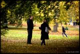 Autumn Conversation, Kew