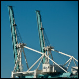 Two Cranes, Miami Docks