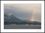 Rainbow outside Toulon