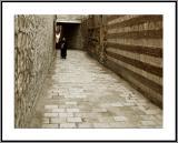 Coptic Monk walking
