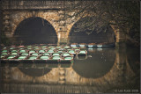 Arches over water