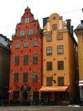 Sztokholm. Kamieniczki przy Stortoget na Starym Mieście.(IMG_2334.JPG)