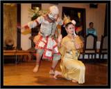 Thai dance in Chiang Mai