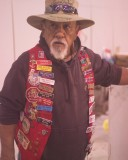 Cecil Villa has been whacking snakes for over 40 years at the roundup