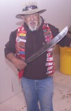 Cecil and his Machette, he figures over 200,000 chops