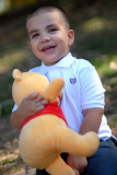 Miguel with Pooh