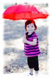 Kaydence with Umbrella