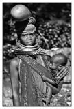 Tribeswoman With Baby