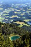 Hahnenkamm-Swarzkogel Trek: Mountain Lake
