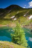 Kitzsteinhorn Mountain: Fir and Mountain Lake