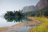 Chieow Laan Lake: Morning