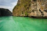 Phi-Phi Leh: Entering Pileh Bay