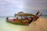 Tup Island: Long-tail Boats