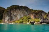 Paradise (Lading) Island: Limestone Rocks