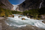 Briksdal Glacier (Briksdalsbreen): Melting Waters