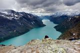 Bessegen Ridge Trail: Lake Gjende & Last Steps