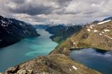 Bessegen Ridge Trail: Lake Gjende & Lake Bessvatnet