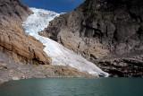 The Briksdal Glacier (Briksdalsbreen)