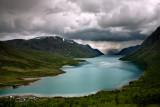 Bessegen Ridge Trail: Lake Gjende after Rain