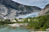 Nigardsbreen Glacier and Nigardsbrevatnet