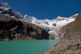 Alpamayo Base Camp Glacier Lake