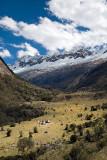 Camping in Huaripampa Valley