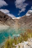 Taullipampa Camp: Glacier Lake at 4500m.