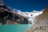 Alpamayo Base Camp Glacier Lake