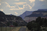 Between Bryce and Zion National Park
