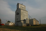 Grain elevator-New England, ND