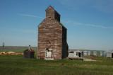Old McCabe grain elevator-Richland, MT