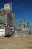 Grain elevators-Flaxville, MT