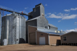 A fire at this elevator, Aug 4, 2010. McClusky, ND.