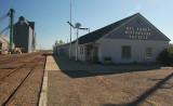 Big Sandy, MT old depot and grain elevator.