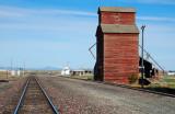 Hobson, MT old grain elevator.