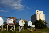 Texas grain elevators.