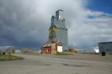 Old Sherdian Flouring Mills Elevator-Hardin, MT