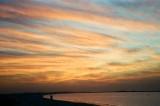 SUNSET AT ABUDHABI CORNICHE