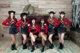 Junior class of the Victoria East High School Golden Saber Dance Team