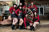 Senior class of the Victoria East High School Golden Saber Dance Team