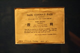 Safe Conduct Pass