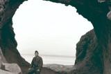 Hole in the rock near Ashiya