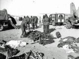 Scene at frozen Hagaru Ri airstrip