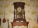 Antique clock in Fern's kitchen