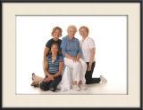 Grandma, Granddaughter, & 2 Sisters
