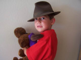 Reilly in his great grandfather hat Carlos