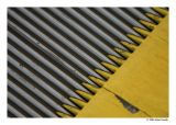 Yellow and Gray stripes(abstract)