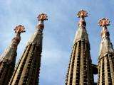 Barcelona - Sagrada Familia towers