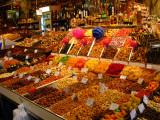 Barcelona - Boqueria Market Dried Fruit Stand