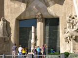 Barcelona - Sagrada Familia detail